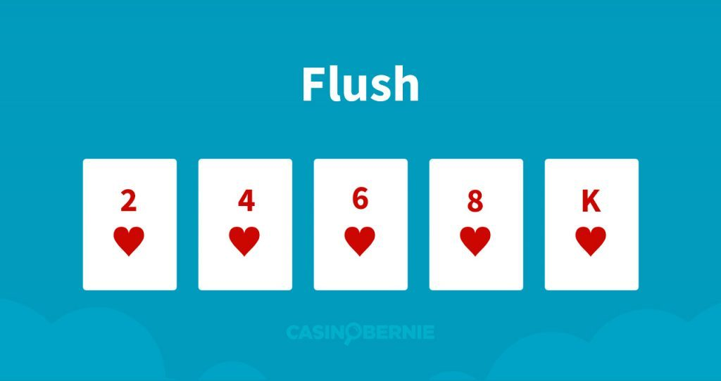 Flush Pokerhand