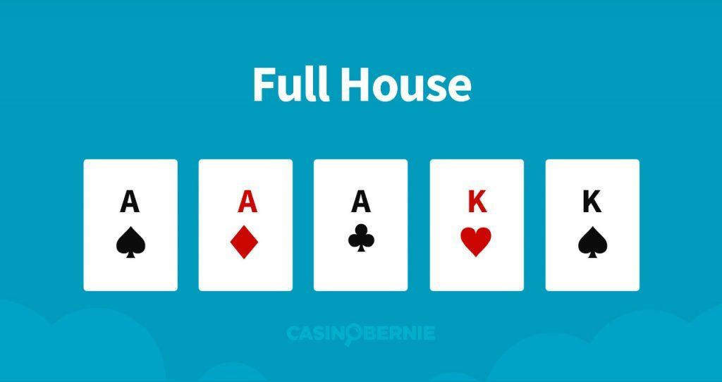 Fullhouse Pokerhand