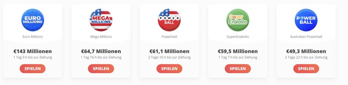 casinobernie megalotto fantastische Lotteriespiele