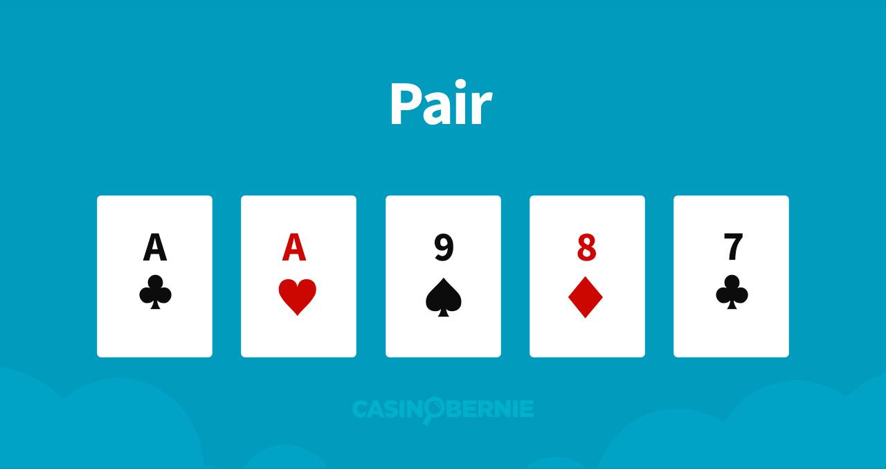 Ein Paar Pokerhand