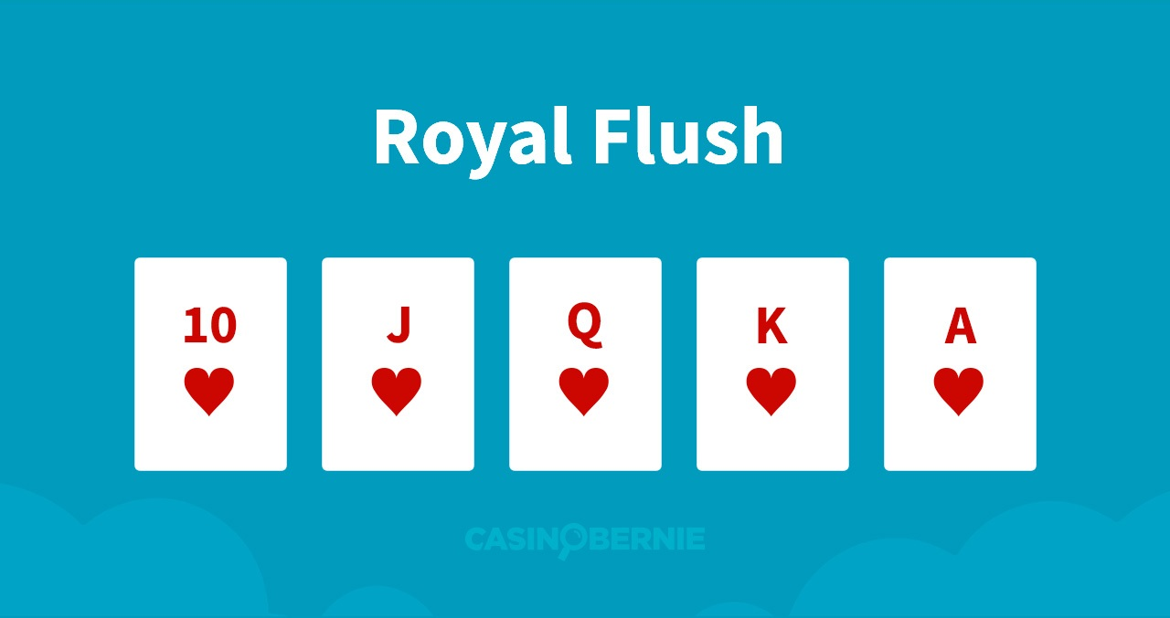 Royal Flush Pokerhand