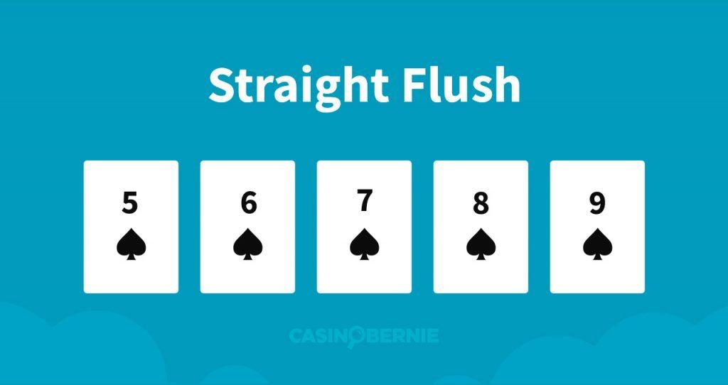 Straightflush Pokerhand