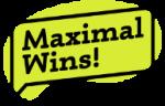 maximal wins logo
