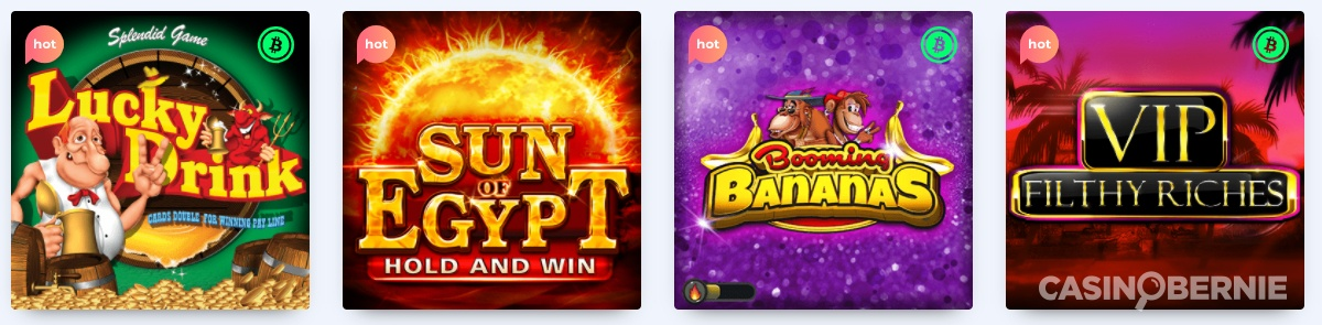 casinobernie casinorocket games