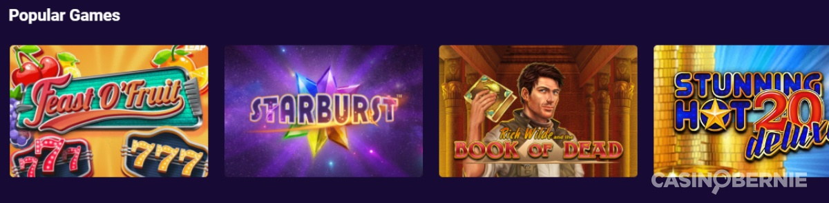 casinobernie vbet games
