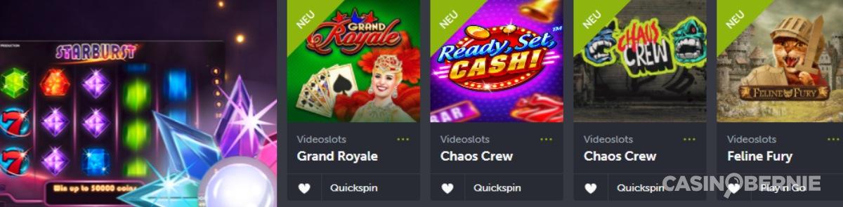 casinobernie comeone spiele