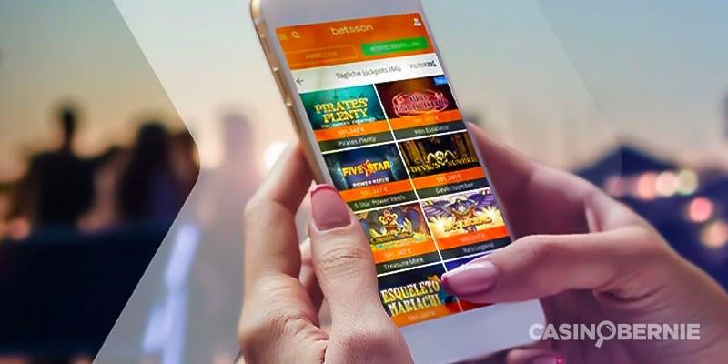 betsson mobile casino casinobernie
