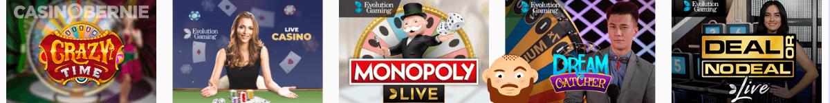Boss Casino Live Spiele