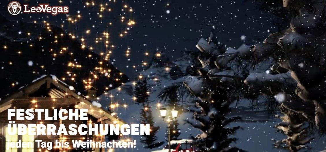 LeoVegas - Festliche Überraschungen jeden Tag bis Weihnachten!