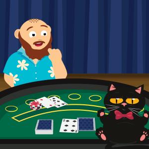 Wie spielt man Blackjack? Schritt 1: CasinoBernie