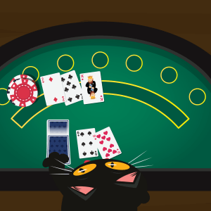 Wie spielt man Blackjack? Schritt 2 - CasinoBernie