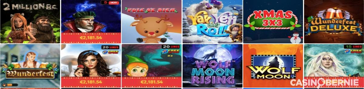 Spielautomaten_Slot wolf_Casinobernie