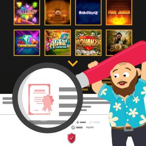Wie findet man heraus, welche Lizenz ein ein Online Casino besitzt?_Schritt 3_CasinoBernie