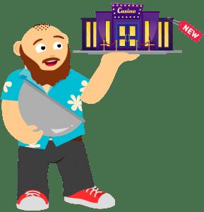 Neue Online Casinos auf CasinoBernie