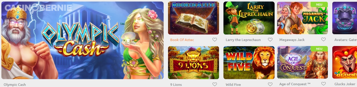 Cadoola Online Casino Spiele