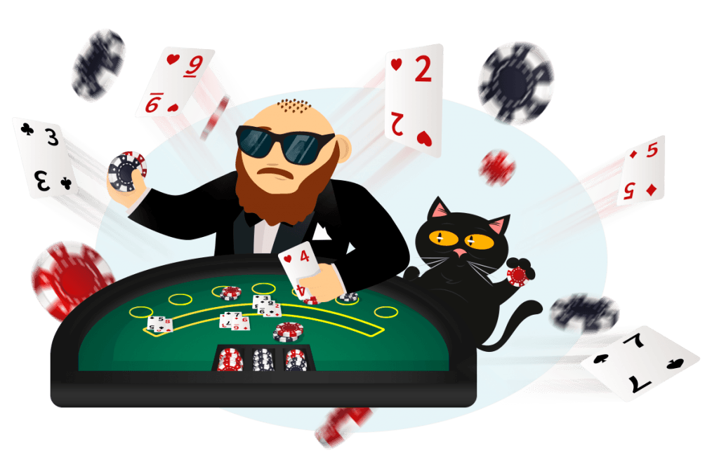 Poker - Action, Fold, Bet, Raise und Call