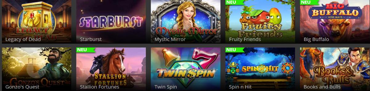 Online Spielautomaten im Hopa Casino