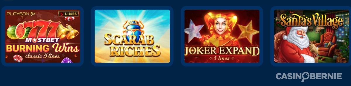 mostbet casino online