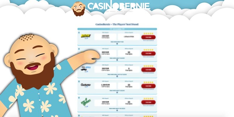 find din casino bonus hos casinobernie